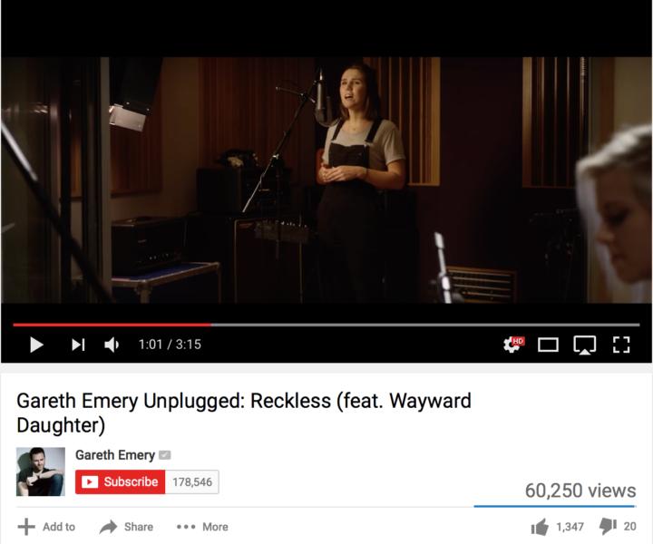 Gareth Emery Reckless Unplugged